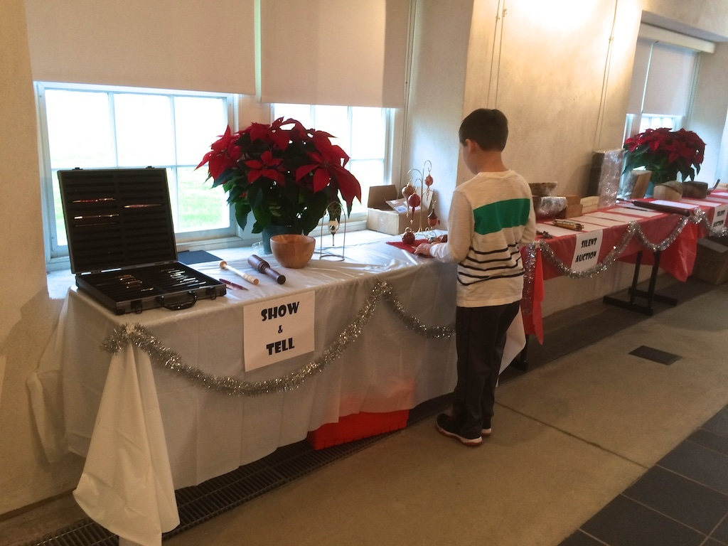 Show & Tell, and Silent Auction...