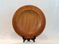 Mahogany platter by Don Hart