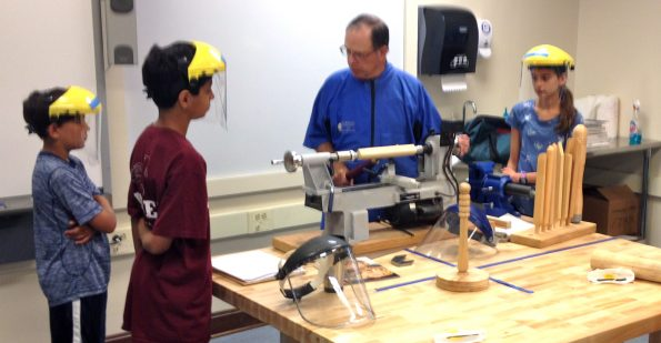 Woodturning Summer Camp